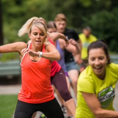 Bootcamper: Effizientes Outdoor Functional Training